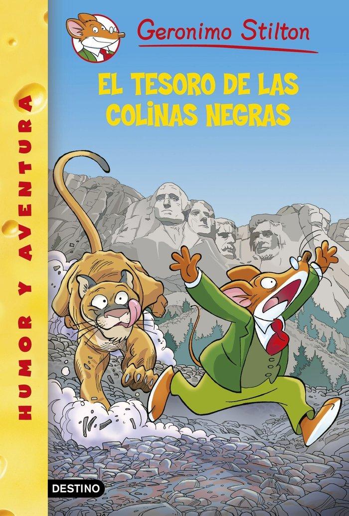 GERONIMO STILTON 56 EL TESORO DE LAS COLINAS NEGRAS